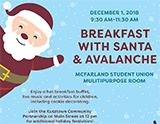 Breakfast with Santa and Avalanche