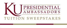Kutztown University Presidential Ambassadors Tuition Sweepstakes