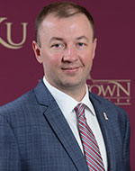 Alex Ogeka, Director of Development & Alumni Relations