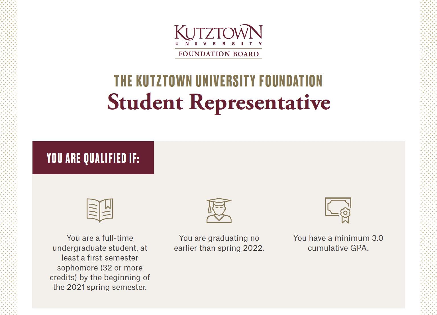 KUF Student Rep
