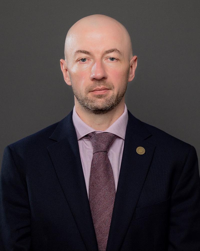 Alex Ogeka, executive director of the Kutztown University Foundation