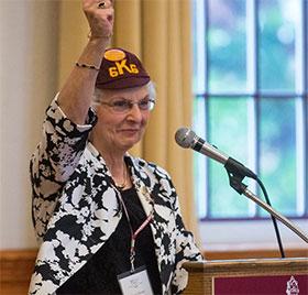 Nancy Seltzer Heffner KU Class of '66 50th Reunion