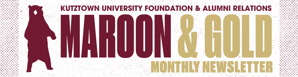 Maroon & Gold Newsletter Logo